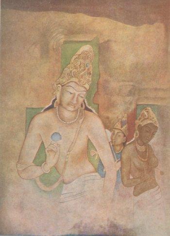 Buddha, Yashodhara, and Rahul