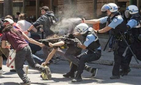 arrestation montréal